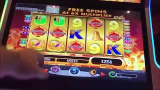 Massive Big Win High Limit Jackpot Handpay Casino Slot Machine