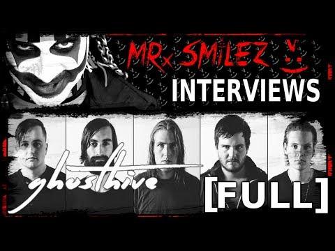 Mr. Smilez Interviews Ghosthive [FULL]