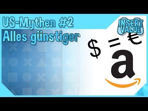 US-Mythen #2 Alles Günstiger In Den USA? 1:1 Umrechnung Von Dollar In Euro
