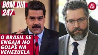 Bom dia 247 (17.1.19): o Brasil se engaja no golpe venezuelano