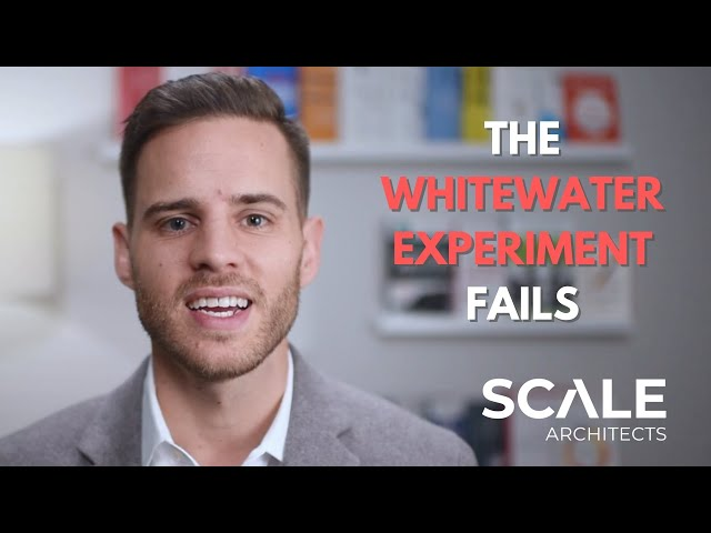 The Whitewater Experiment Fails