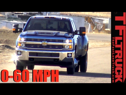 Chevy 0 60 >> 2017 Chevy Silverado 3500 0 60 Mph Review How Fast Is The New Duramax