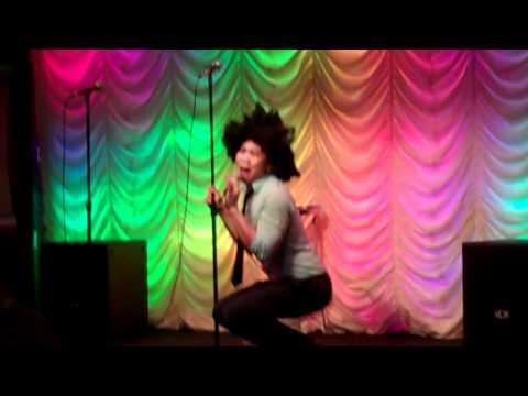 Kim the Carnival Karaoke Host