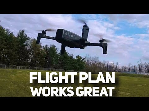 Parrot Anafi Drone Flight Plan Works Great Monroeville Pa