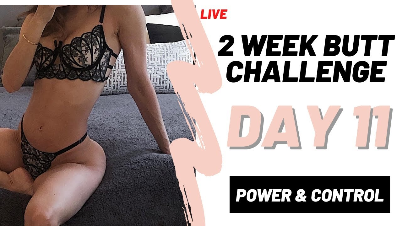 IMPROVE YOUR BOOTY IN 2 WEEKS | DAY 11 | FITNESS CHALLENGE