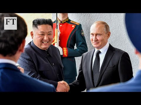 Vladimir Putin and Kim Jong Un discuss Korean situation at summit