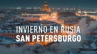 Invierno en Rusia San Petersburgo