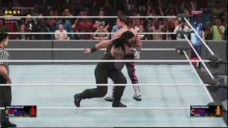 WWE 2k19:  one of the funniest glitches ever