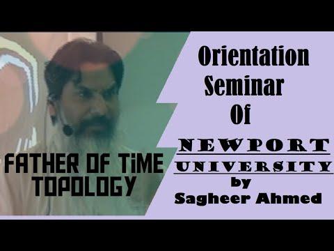 Orientation Seminar in Newports institute ( Part 1)