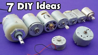 7 Useful DIY Ideas from DC Motor Compilation