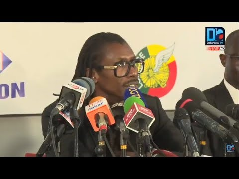 [REPLAY] Revivez la publication de la liste du Sénégal pour le Mondial 2018