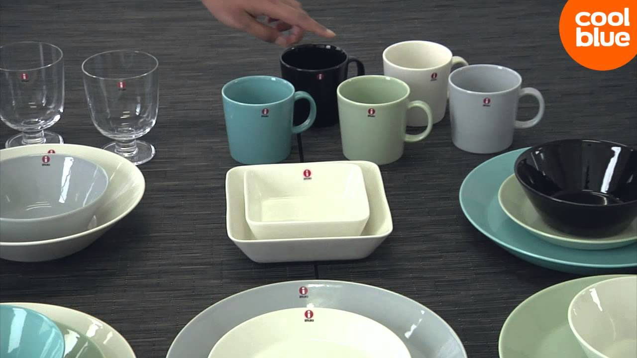 iittala teema servies line-up videoreview en unboxing (nl/be) - youtube