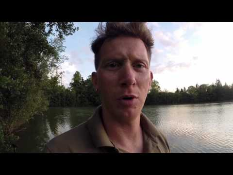 Carp Fishing - The Island Lake France July '15 Part 1
