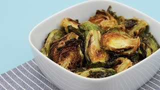 Flash-fried Brussels Sprouts With Garlic & Lime - The Best Brussels Sprouts You've Ever Had!