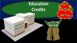 Education  Credits - Income Tax 2018 2019