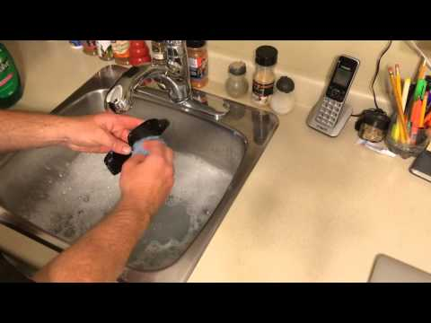 How to clean your Oakley Sun glasses.
