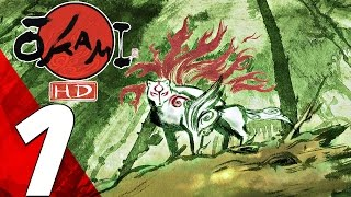 Okami HD - Gameplay Walkthrough Part 1 - Prologue [1080P 60FPS]