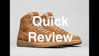 Early look at Nike Jordan 1 Wheat 先行発売ナイキエアジョーダン1最速レビュー
