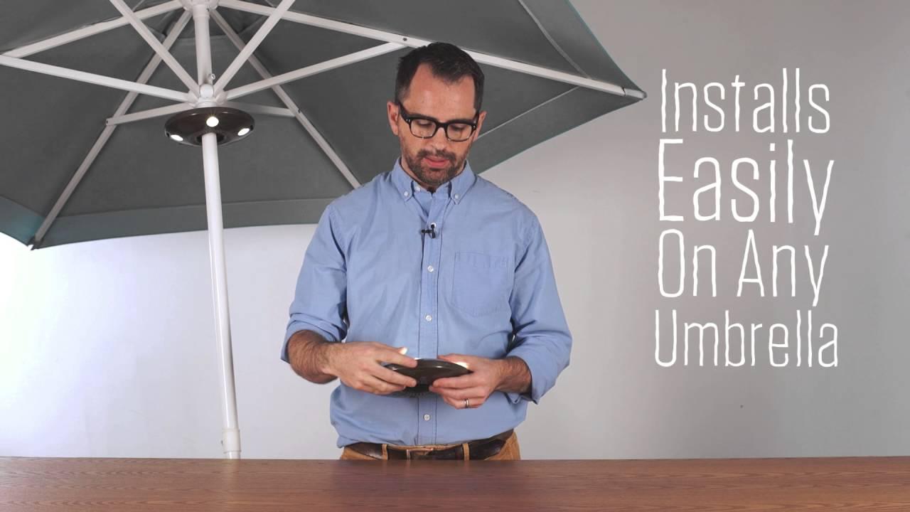 Ion Audio Patio Mate Outdoor Speaker Light Youtube