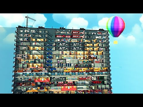 They Gave Me $1,000,000,000 To Build A 100 Story Skyscraper - Mad Tower Tycoon