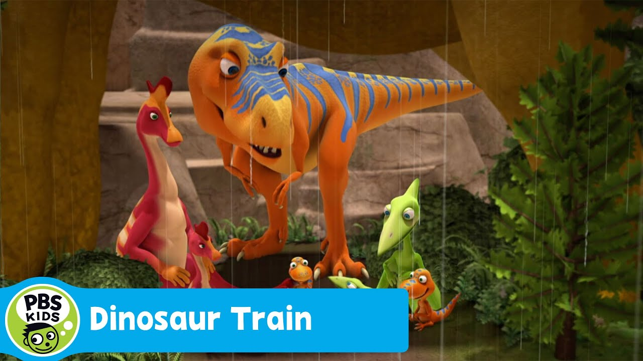 DINOSAUR TRAIN | Dad's Day Out | PBS KIDS - YouTube