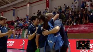 Ukraine v Italy - Bronze Medal Match