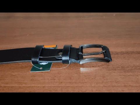 Мужской ремень кожаный Sergio Torri 1-030 125 см Черный (2000000001760)