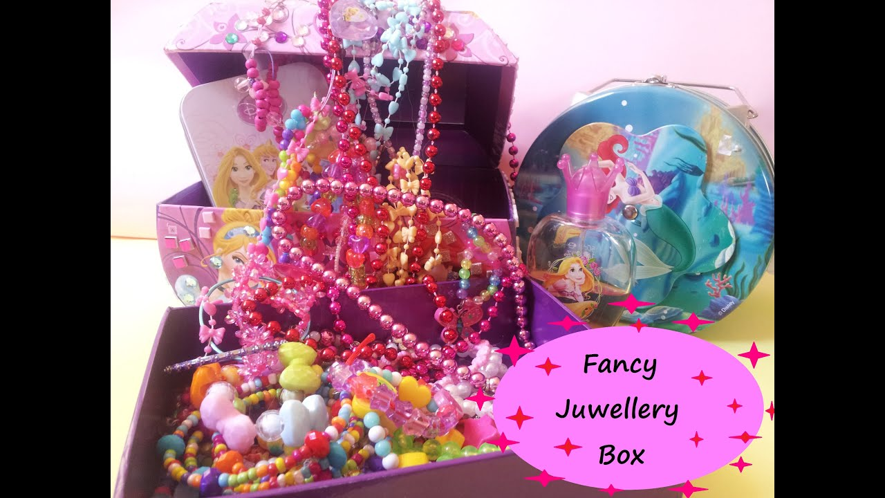 Fancy Jewellery Box and AccessoriesIncluding Rings Earnings