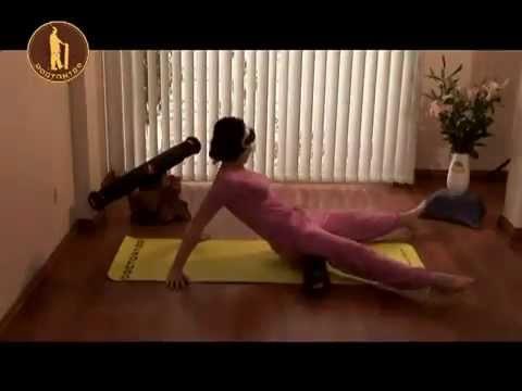 Bài tập chữa đau lưng, thoát vị đĩa đệm (bài 1)