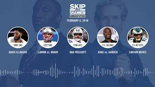 UNDISPUTED Audio Podcast (02.05.19) with Skip Bayless, Shannon Sharpe & Jenny Taft | UNDISPUTED