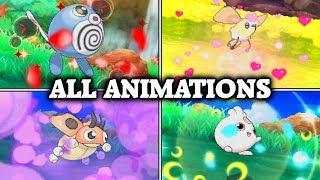 Pokémon Sun & Moon - All Pokéball Release Animations