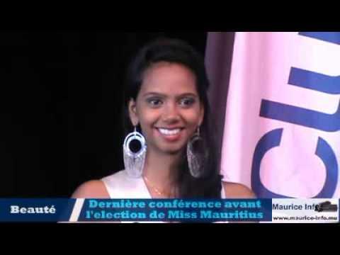 Conférence de presse du Comité Miss Mauritius