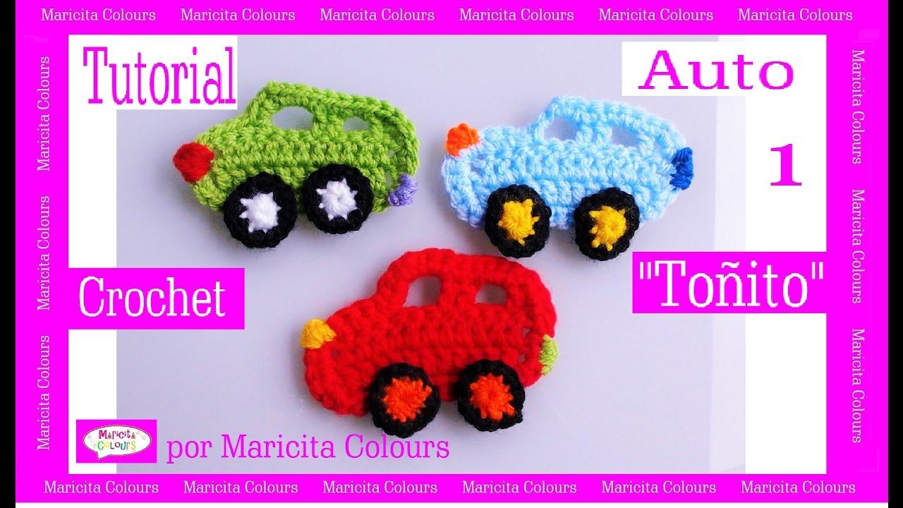 Crochet Tutorial Auto /Coche \