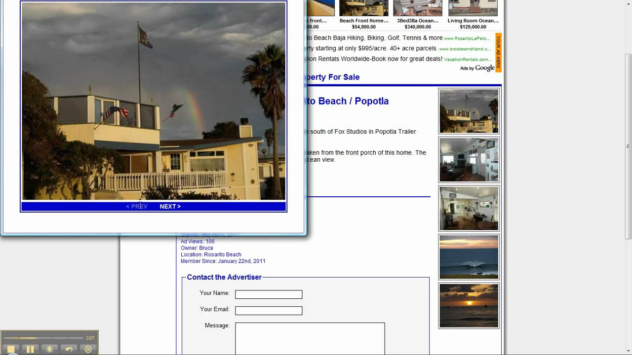Beach Front Home In Rosarito Mexico Classifieds