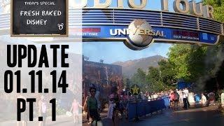 Repeat youtube video Universal Studios Trip Report Pt. 1 - Studio Backlot Tour