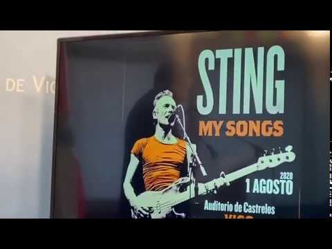 Caballero anuncia el concierto de Sting en Castrelos