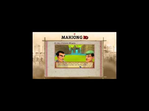 Mahjong 3D game trailer