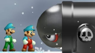 Newer Super Mario Bros Wii - All Airships (2 Players) thumbnail