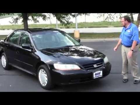 Used 2002 Honda Accord LX for sale at Honda Cars of Bellevue...an Omaha Honda Dealer!