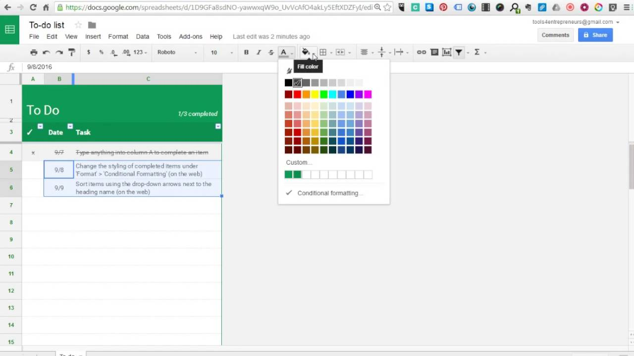 how to make vertical text in google sheets