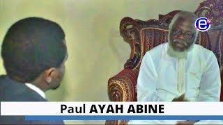 The inside Paul AYAH ABINE. Du 17 09 2017 Equinoxe tv