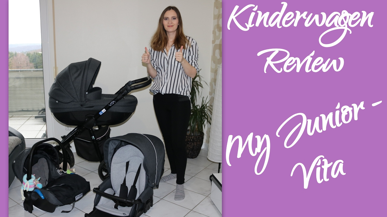 My Junior Miyo Ebay Kombikinderwagen Review My Junior Vita