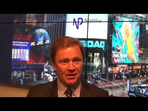 NASDAQ OMX Welcome NeuroVive