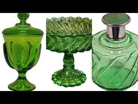 Emerald Isle | Explore Vintage & Antique Glassware on Ruby Lane
