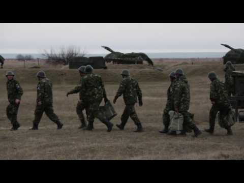 Romania Sends Air Defense Specialists to Poland, B-Roll