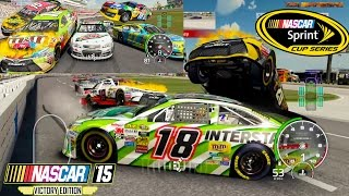 Nascar 15 Victory Edition: All Cars What Novelty in Nascar Best Extreme Longer Crash Compilation