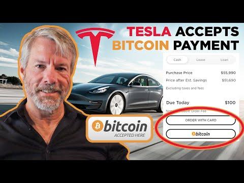 Tesla Accepts Bitcoin Payment w/ Michael Saylor