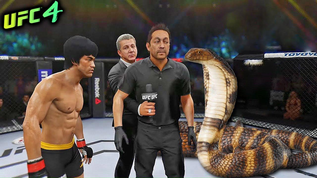 UFC4   Bruce Lee vs. King Cobra (EA sports UFC 4)