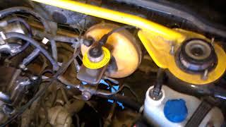 замена пыльника рулевой рейки 2110 на машине 2108 Рейка с усилителем моторного щита