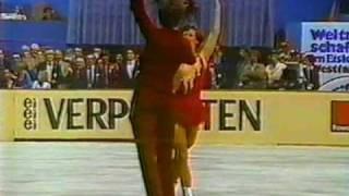 Regöczy & Sallay (HUN) - 1980 Worlds, ice Dancing, Free Dance